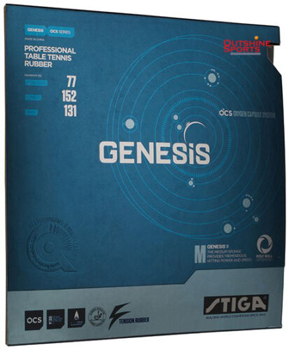 Stiga GENESIS M Table Tennis Rubber