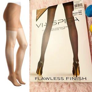 Via Spiga Flawless Finish Sheer Control Top Pantyhose