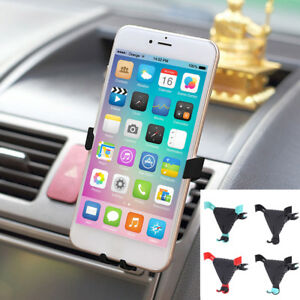 the best attitude 0c8be 7342f Car Phone Holder Air Vent Mount Stand Support Bracket for iPhone 8 ...