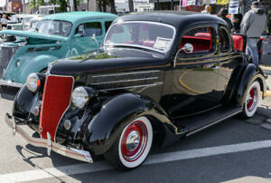 High End 1936 Ford 5 Window Coupe
