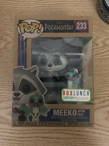 Meeko with Flit earth day edition 233# IN STOCK box lunch Funko POP Disney