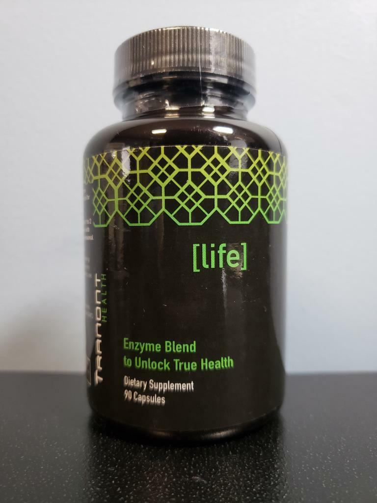 Tranont Health Life Enzyme Blend 90 Capsules – New / Sealed! Exp 11/2022
