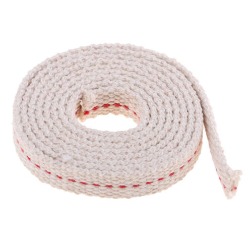 1m Length Round Flat Cotton Kerosene Oil Wick Alcohol Lamp Wick