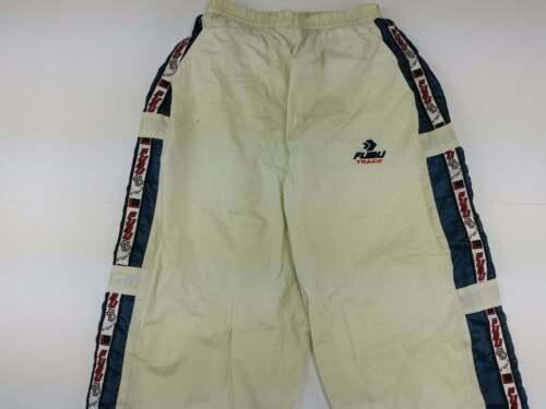 FUBU pants, beige vintage baggy jeans, tape, carpe