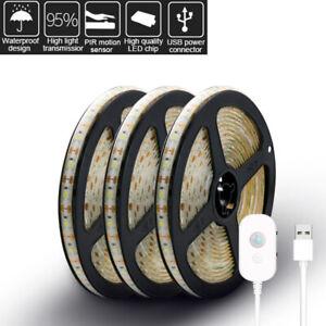 PIR-Motion-Sensor-LED-Strip-Light-USB-2835-5V-Waterproof-Camping-Tent-Light