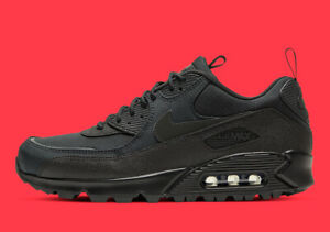 Details about Nike Air Max 90 Surplus Black Infrared Mens Shoes
