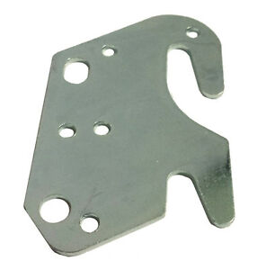 universal wood bed rail 2 bracket metal claw hook plate