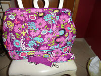 Vera Bradley Flutterby Frame Travel Bag