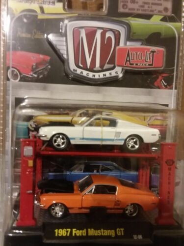 1967 FORD MUSTANG GT 2 PACK 1:64 M2 MACHINES AUTO-LIFT RELEASE 7