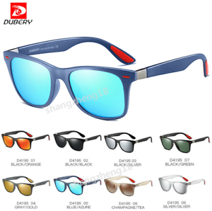 e96a975875 Image is loading DUBERY-Men-Sport-Polarized-Sunglasses -Women-Outdoor-Driving-