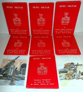 Portugal-Military-Uniforms-1900-1945-50-plates-plus-11-plates-Forts-by-deSouza