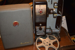 Vintage Reel Movie Projector 8-500 Cine Kodak Showtime 8  8mm Tested