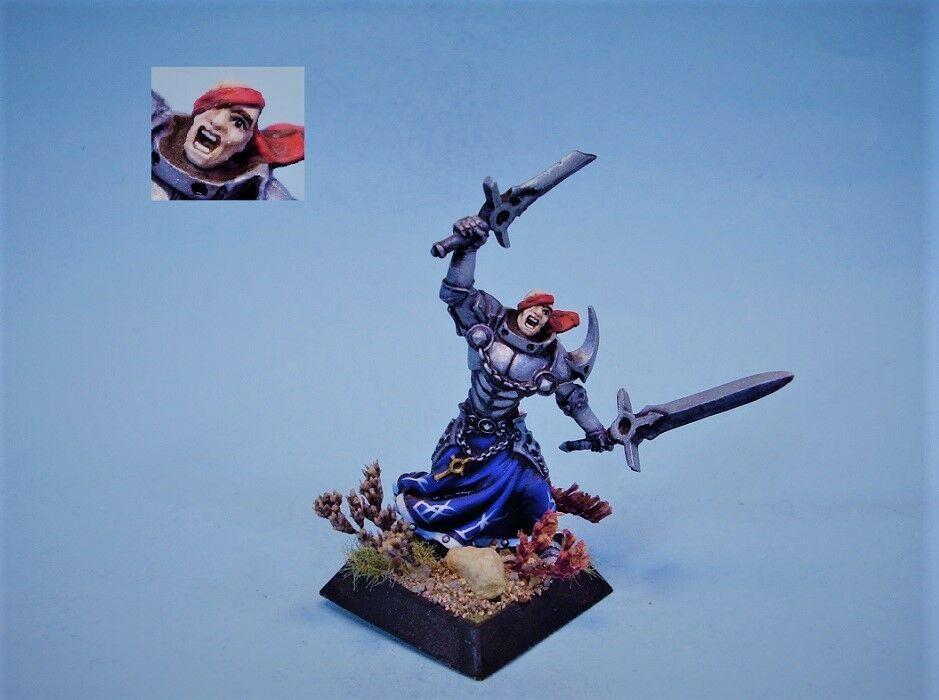 Confrontation painted painted painted miniature Griffin Veteran aad752