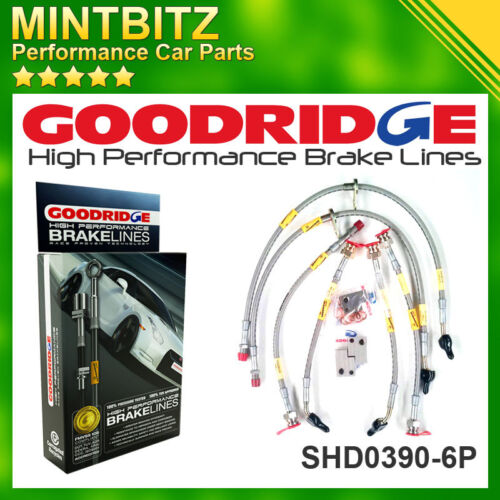 Honda Civic Type-R FK2//FN2//FK3 06 Zinc Plated Goodridge Brake Hoses SHD0390-6P