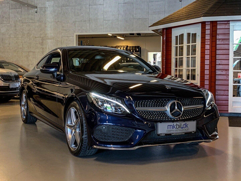 Mercedes C300 2,0 AMG Line Coupé aut. 2d - 469.900 kr.