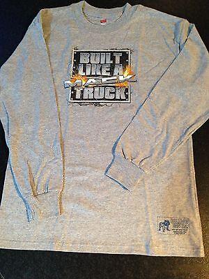 BNWOT Boys Sz 10-12 Genuine Mack Cool Tie Dye Bulldog Logo Short Sleeve Tee Top