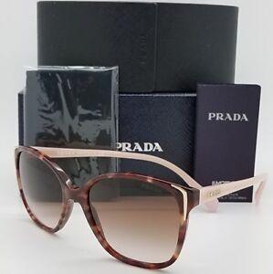 73ef84958a5 New Prada sunglasses PR 01OS UE00A6 55 Brown Brown Gradient ...