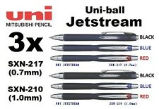 3x Uni-Ball SXN-210 JETSTREAM CHOOSE YOUR COLOR/SIZE: 0.7mm 1.0mm Mitsubishi Pen