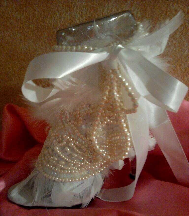 CINDERELLA ROMANCE JEWEL  FEATHER BRIDAL WEDDING HEELS PARTY CLUB COSTUME