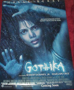 Cinema-Poster-GOTHIKA-2003-One-Sheet-Halle-Berry-Penelope-Cruz-Robert-Downey