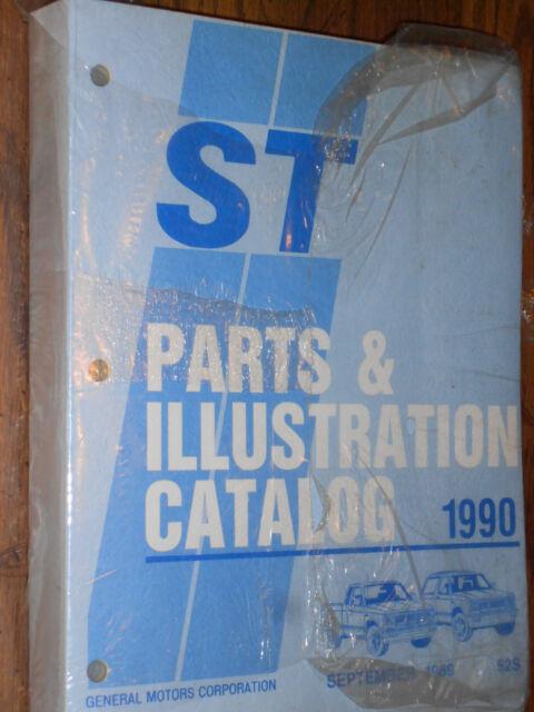 1990 CHEVROLET S10 / BLAZER / GMC S15 / JIMMY TRUCK PARTS CATALOG / ORIG BOOK