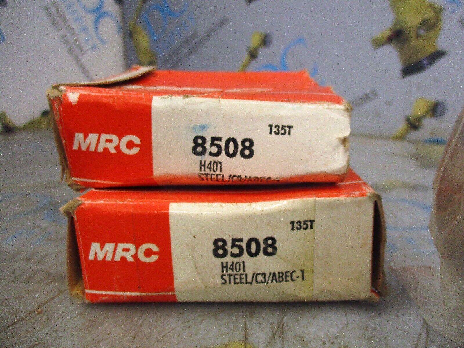 Lot of 5 MRC 7206PJDU Single Row Deep Groove Ball Bearings