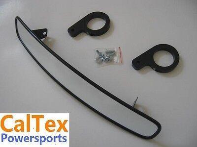 "Kawasaki Teryx KRF750 UTV Wide Rear View Race Mirror 13/"" x 2.75/"""