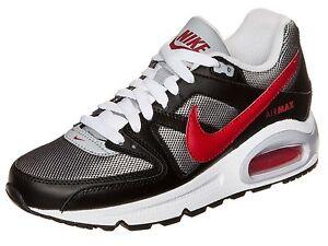 sports shoes 48056 41e8e Das Bild wird geladen Nike-Air-Max-Command-Damen-Jungen-Maedchen-Schwarz-