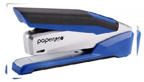 1116 Tischhefter Ein-Finger-Einfach silber//blau PaperPro inPOWER 28