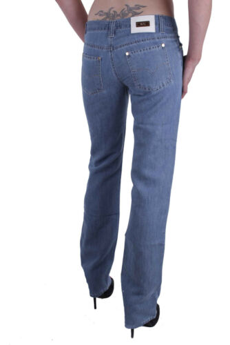 VERSACE VJC Jeans Donna Pantaloni Blu