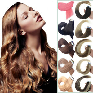 Best-Quality-Remy-Human-Hair-Extensions-Seamless-Tape-in-Weft-PU-Hair-Balayage