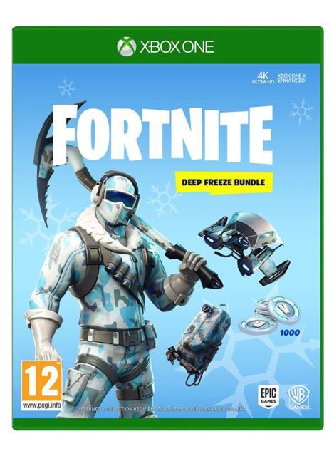 Fortnite Deep Freeze Bundle Xbox One Ebay