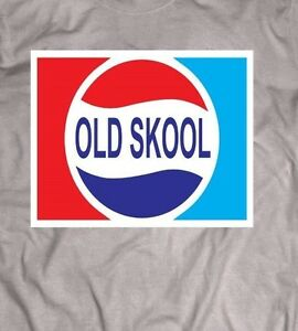 Image Is Loading OLD SCHOOL PEPSI LOGO PARODY SHIRT BACK TO