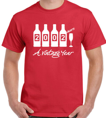 Bottles 2000 Mens Funny 19th Birthday T-Shirt 19 Year Old Gift Present