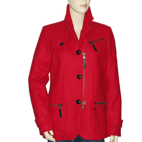 Chipie Red Lana Caban Mujer Lana Victor 66gUrq
