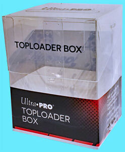 1-ULTRA-PRO-30-TOPLOADER-Trading-CARD-STORAGE-BOX-Sports-Clear-Case-Magnetic