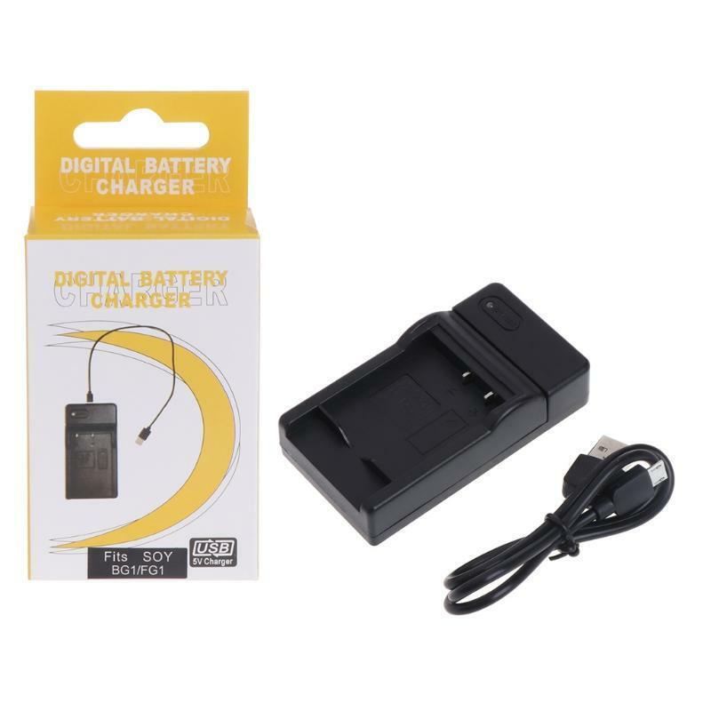 NP-BG1 USB Battery Charger For Sony CyberShot DSC-HX30V DSC-HX20V DSC-HX10V New