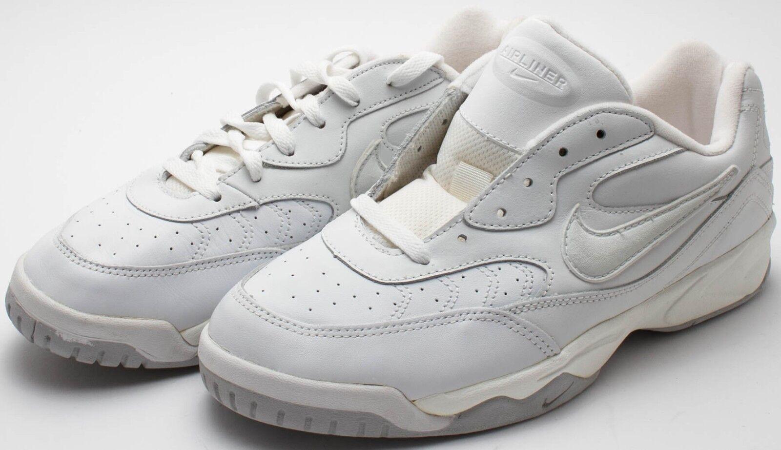 Nike Uomo OG Vintage Vintage Vintage 1998 Air Rivalry II A.S. bianca grigio 140468-111 Sz 13 71e55b