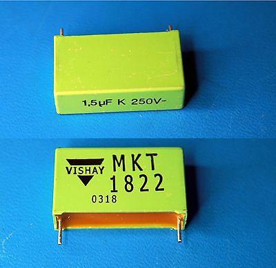 ROEDERSTEIN MKT1822-515//255 1.5uF 250VDC 10/% Polyester Film Capacitor QTY-10