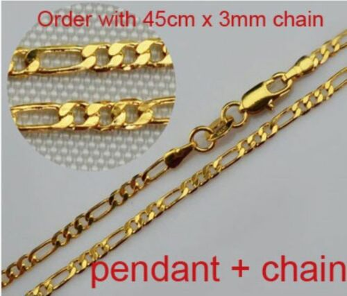 Israel Map Country West Bank 18K Gold plated Necklace Chain Jewish Pendant