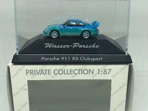 Herpa-1-87-Porsche-911-Clubsport-Wasser-Private-Collection