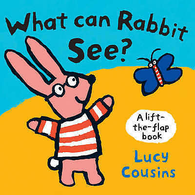 """1 of 1 - """"AS NEW"""" What Can Rabbit See? (Lift the Flap), Cousins, Lucy, Book"""