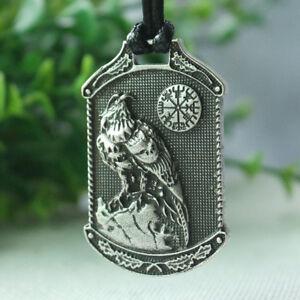 Valknut-Odin-039-s-eagle-Celtic-norse-Pendant-Necklace-Viking-Talisman-Jewelry
