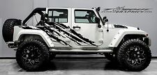 STEALTH-4 Door-Vinyl Decal Set for Jeep Wrangler  , Vehicles, Custom Graphics