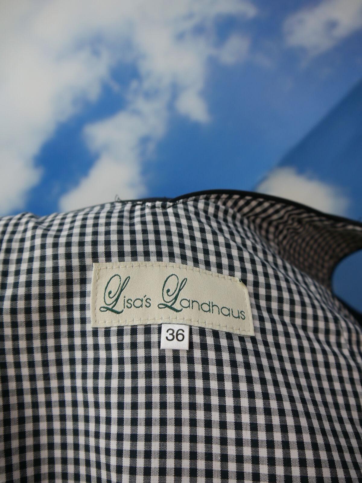 Lisa Landhaus Balkonett Dirndl Ketten Schnürung Trachtenkleid und Schürze Gr.36 Gr.36 Gr.36 | Der neueste Stil  | Schönes Design  | Stilvoll und lustig  01a9f8