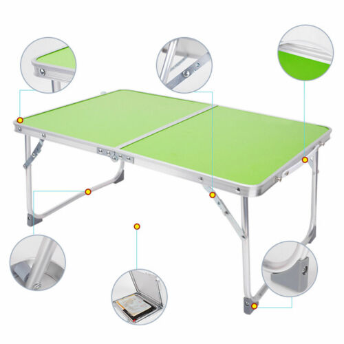 4FT HEAVY DUTY FOLDING TABLE PORTABLE PLASTIC CAMPING GARDEN PARTY CATERING NEW