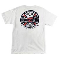 Independent Trucks Ba Cross Skateboard T Shirt White Medium on sale