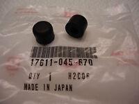 Honda Mini Trail Z 50 Mr50 Elsinore Qa 50 Front Gas Tank Rubbers Genuine Parts