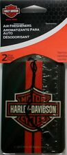 2 pk Harley Davidson HD Motor Cycle Vanilla scented auto air freshener car truck
