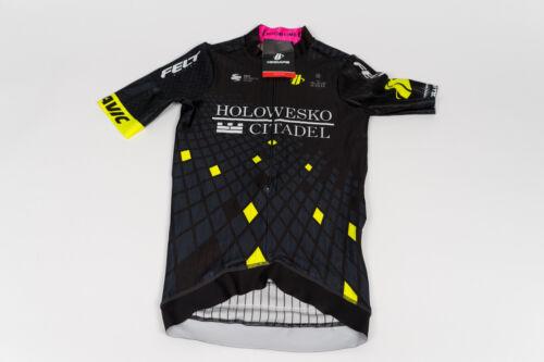 Black Size M New 2017 Men/'s Hincapie Racing Team Arrow SS Cycling Race Jersey